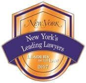New York's Leading Lawyers badge